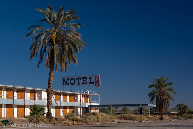 Abandoned Motel at the Salton Sea, California
