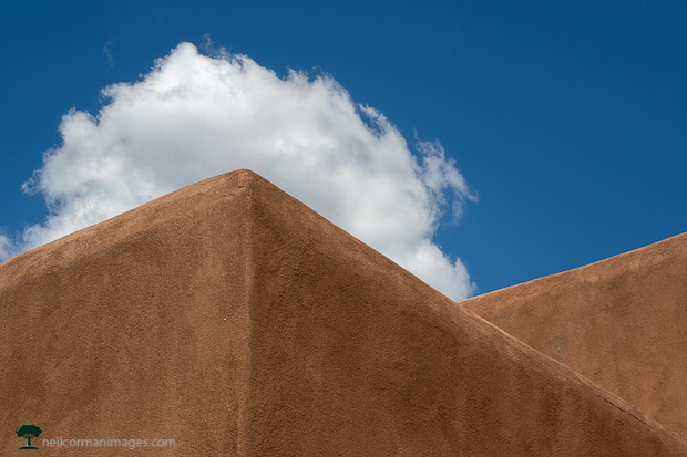 Building clouds over the adobe lines