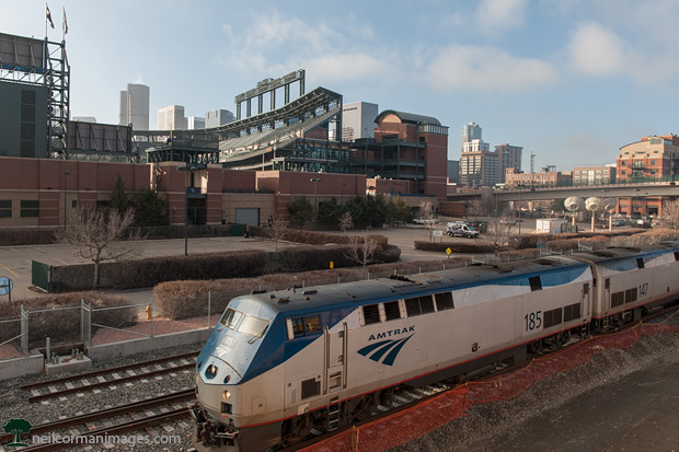 Amtrak in Denver