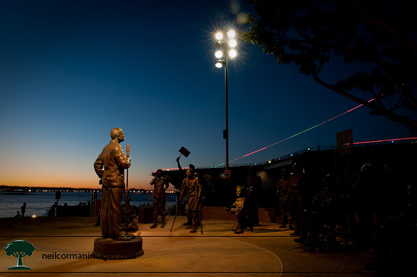 Bob Hope Memorial at San Diego Bay
