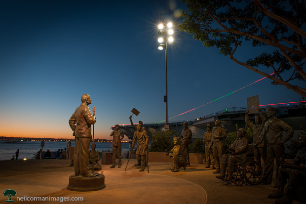 Bob Hope Memorial in San Diego