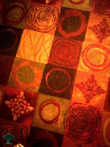 Casino Carpet Pattern