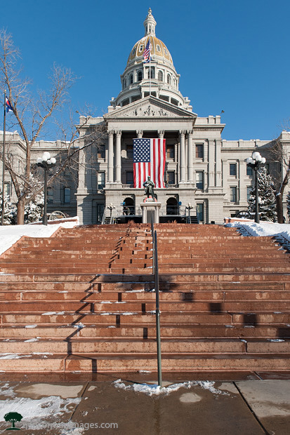 Colorado Capitol Building at Inaugration