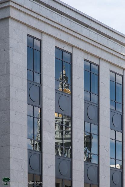 Colorado Capitol Reflection