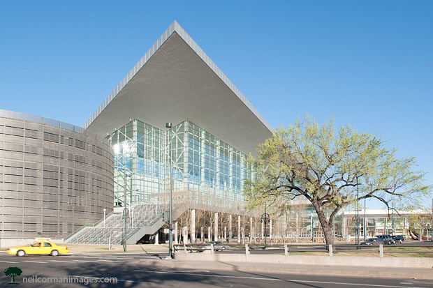 Colorado Convention Center in the Spring
