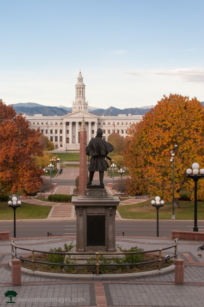 View from Colorado State Capitol