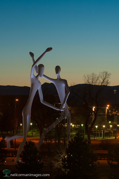 The Dancers at Dusk in Denver