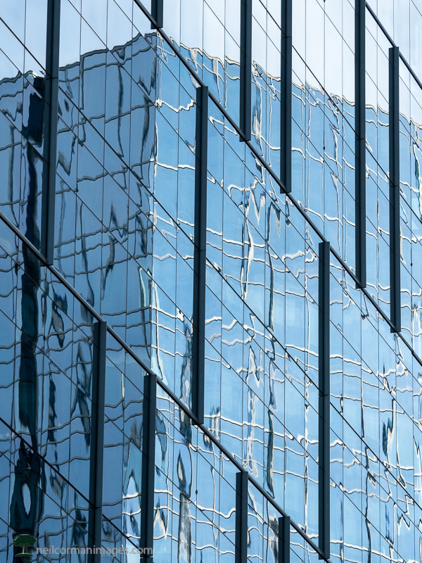 Reflection of Davita Building