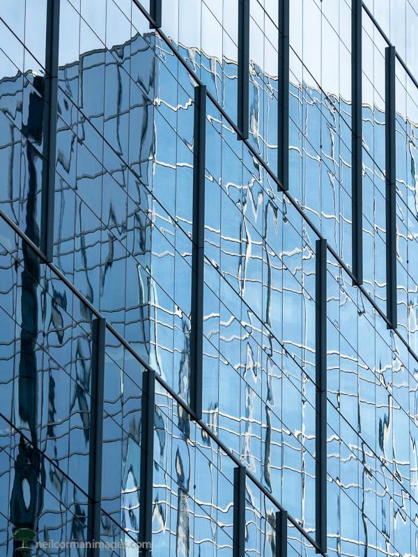 Reflection of Davita Building