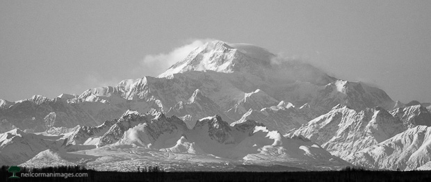 Denali National Park from a Distance