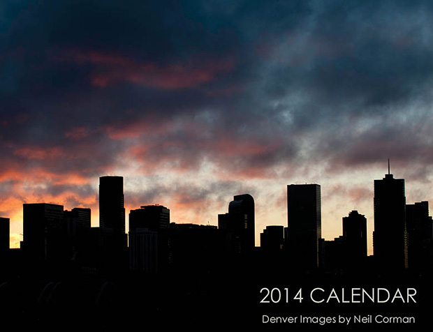 Denver Calendar by Neil Corman