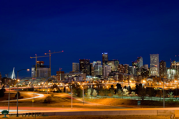 Denver Skyline from 2010
