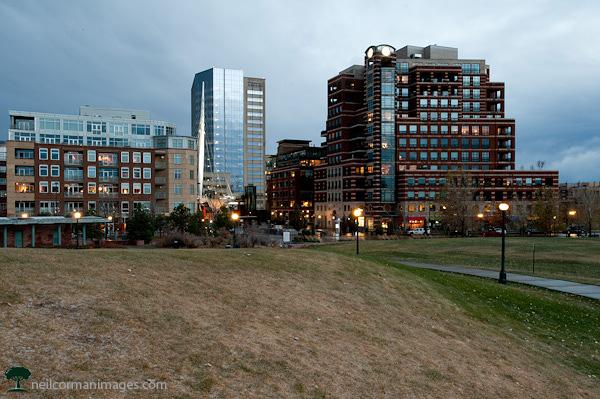 Denver Commons Park in November