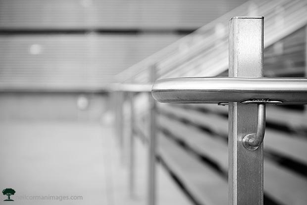 Denver Convention Center railing