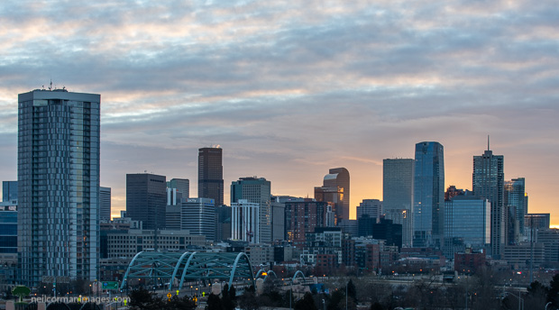 First Sunrise of 2021 in Denver
