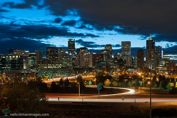 Denver Skyline at Dawn