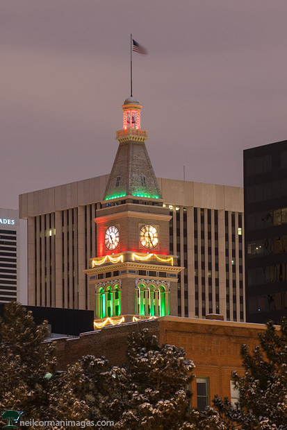 Downtown Denver During the Holidays