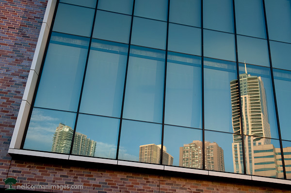 Downtown Denver Skyline Reflection