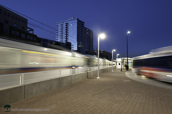 Denver Colorado Evening Rush