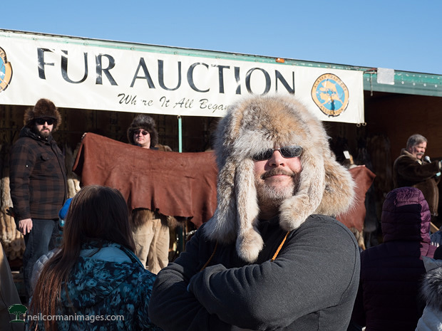 Fur Rondy Auction in Anchorage