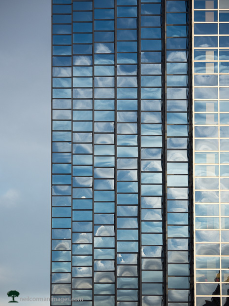 Glass Building in Denver