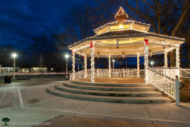Holidays in Eagle Idaho at Heritage Park