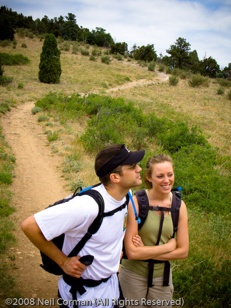 Hikers in Colorado