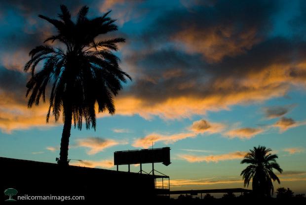 Hotel California at Sunrise - Salton Sea