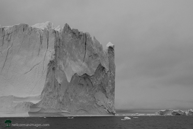 Iceberg Mass in Greenland