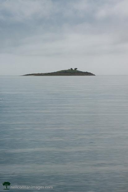 Island from Auke Recreation in Juneau