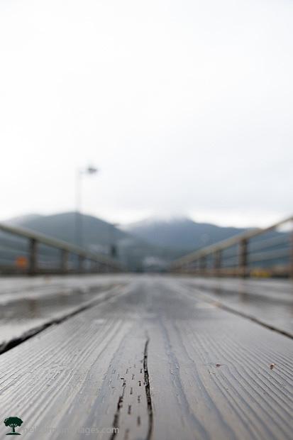 Juneau Pier towards Douglas