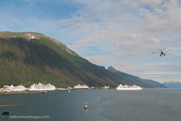 Summer Afternoon in Juneau