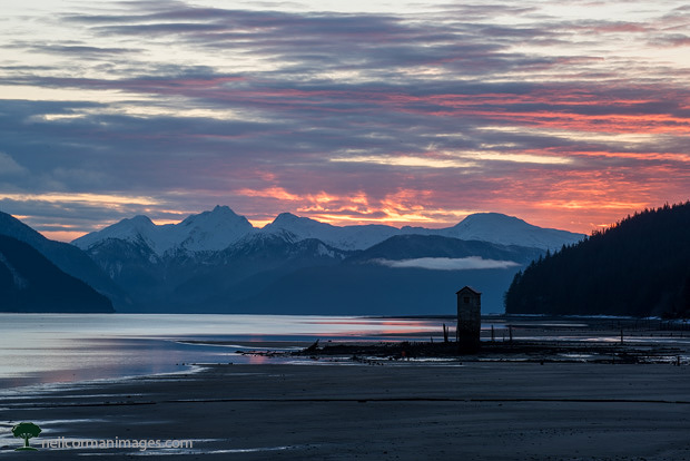 First Sunrise of 2017 in Juneau