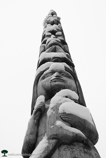 Totem Pole in Juneau