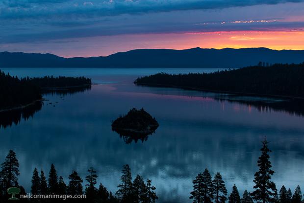 Summer Sunrise at Lake Tahoe - Emerald Bay