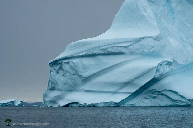 Large Iceberg in Greenland