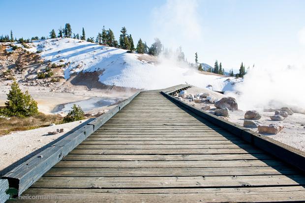 Lassen National Park - Boardwalk