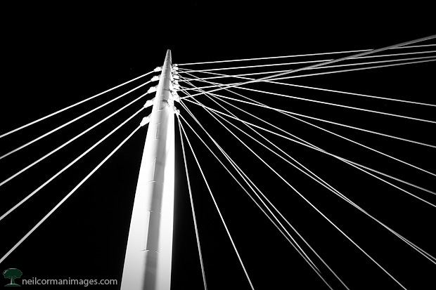 Lines in the Night at Millennium Bridge Denver
