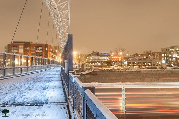 LoHi Bridge in the Snow