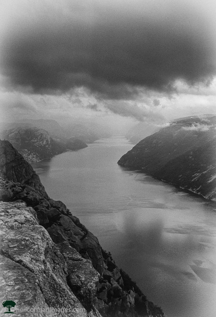 Lysefjord in Norway - Stavanager - Pulpit Rock