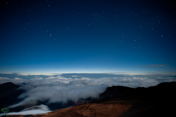 Haleakala at Dawn on Maui