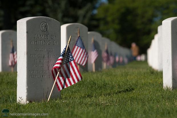 Memorial Day 2012 - Fort Logan National Cemetery