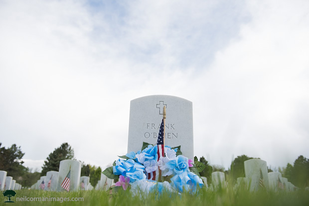 Memorial Day 2015 at Fort Logan National Cemetery