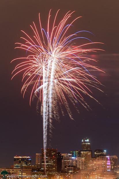 Memorial Day Fireworks in Denver