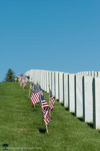 Memorial Day at Fort Logan National Cemetery