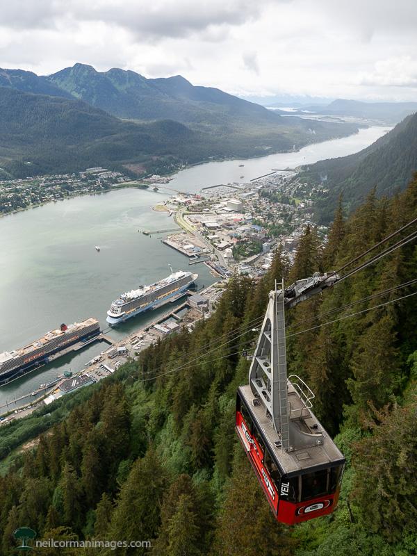 Mount Roberts Tramway in Juneau