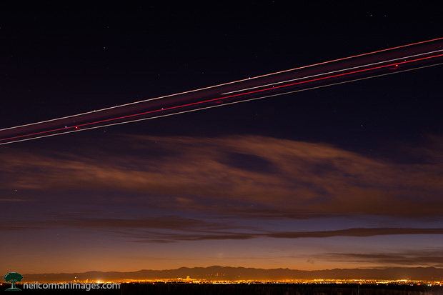 Planes on the Colorado Plains