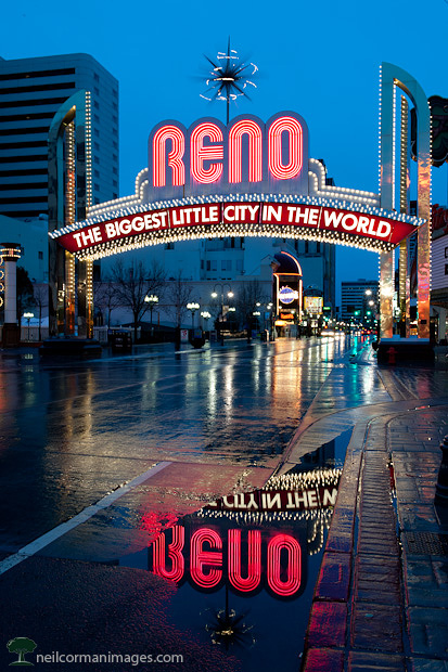 The Biggest Little City - Reno Nevada