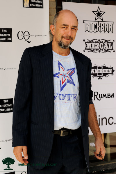 Richard Schiff during the Democratic National Convention in Denver, Colorado