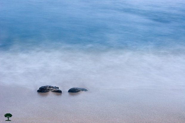 Rocks along the Beach in Hawaii